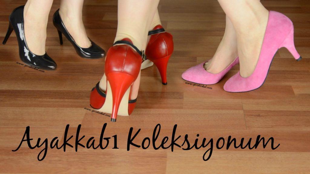 ayakkabi koleksiyonum